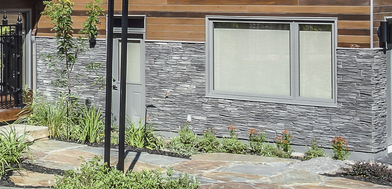 Viola Charcoal - Dry Stack Ledgestone cheap stone veneer clearance - Discount Stones wholesale stone veneer, cheap brick veneer, cultured stone for sale