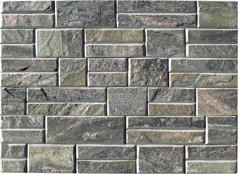 Pristine Green - Newledge Slate cheap stone veneer clearance - Discount Stones wholesale stone veneer, cheap brick veneer, cultured stone for sale