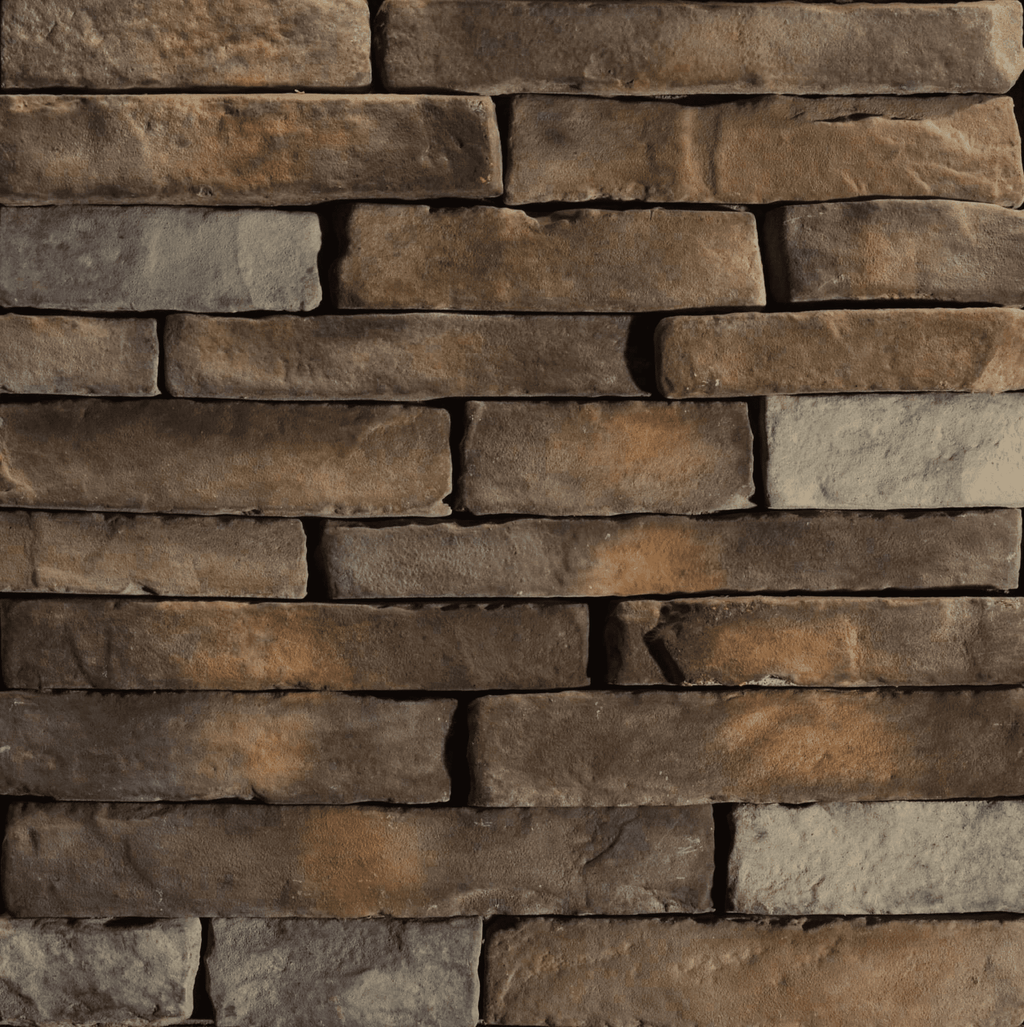 Mahogany - Dry Stack Ledgestone cheap stone veneer clearance - Discount Stones wholesale stone veneer, cheap brick veneer, cultured stone for sale