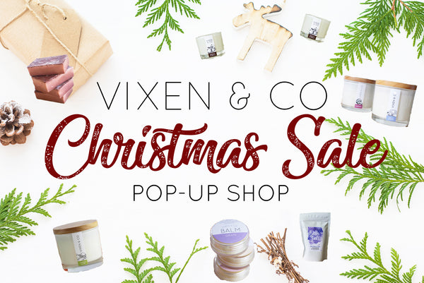 1-DAY ONLY - POP UP SHOP // CHRISTMAS SALE