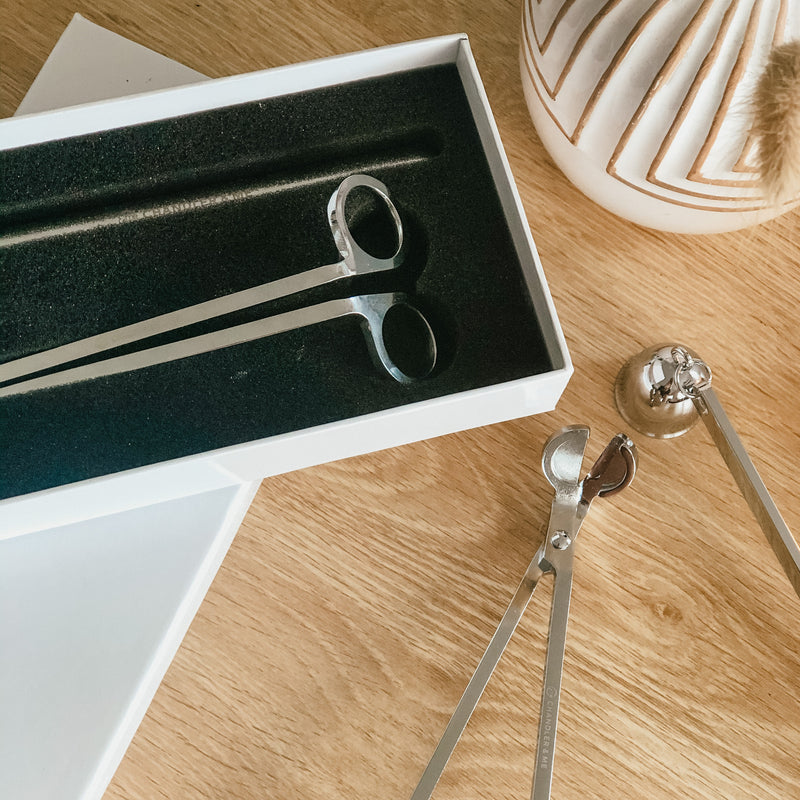 Wick Trimmer & Snuffer Set