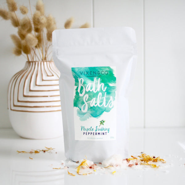 Muscle Soothe Bath Salts - Peppermint