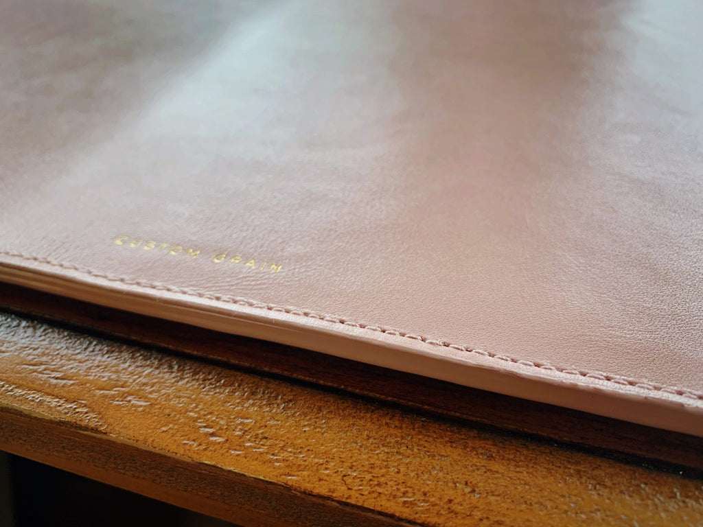 Large Leather Desk Mat