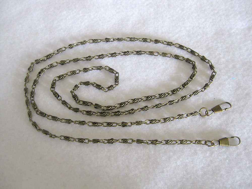 Chain shoulder strap