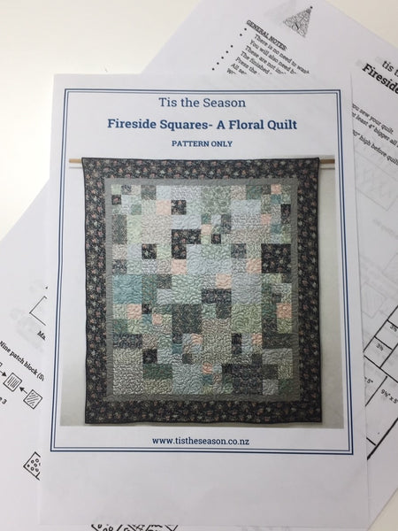Fireside Squares Quilt pattern