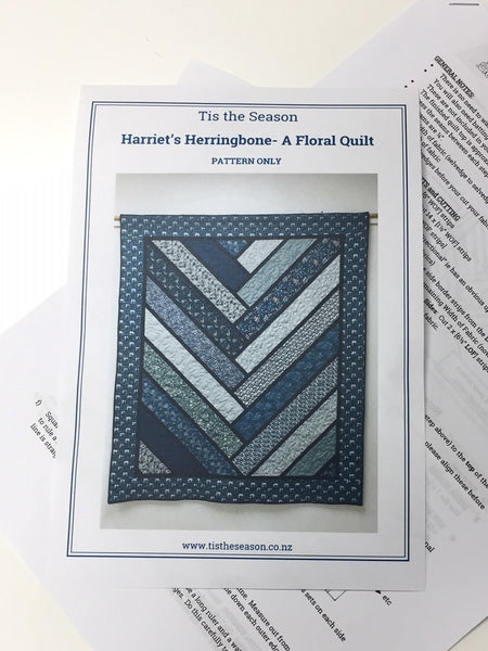 Harriet's Herringbone Quilt pattern
