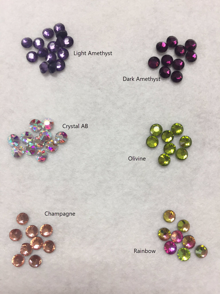 Hot-Fix Rhinestones SS10