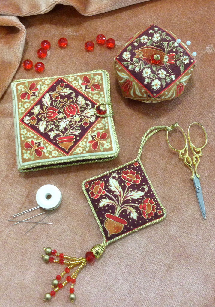 Sewing William - a William Morris inspired sewing set