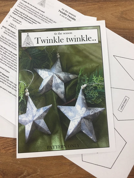 Twinkle Twinkle - a trio of christmas stars