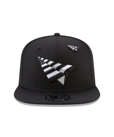 PAPER PLANES - THE CROWN ORIGINAL SNAPBACK (BLK/WHT)