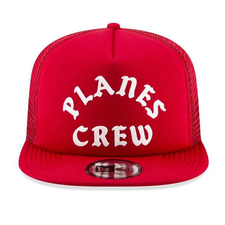 PLANES - PLANES CREW TRUCKER SNAPBACK (RED)