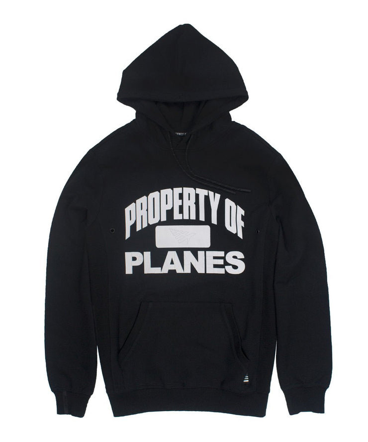 PAPER PLANES - PROPERTY OF HOODY (BLACK)