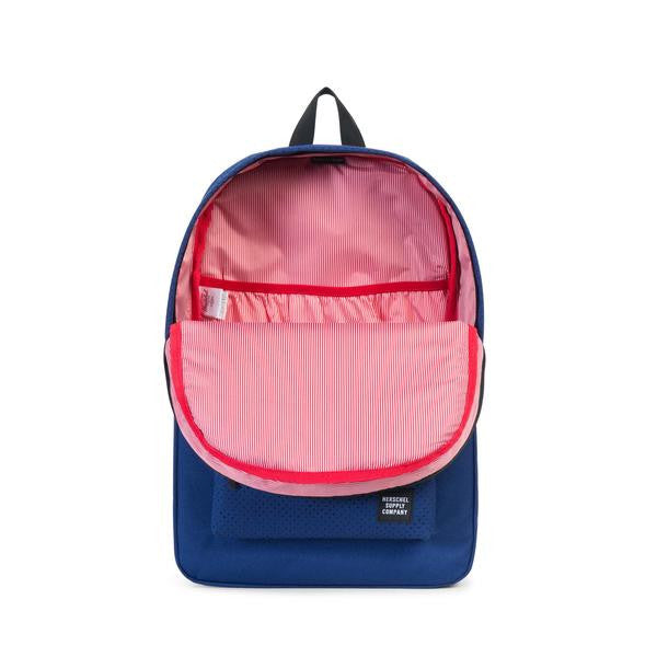 HERSCHEL - HERITAGE POLY BACKPACK (TWILIGHT BLUE/BLACK RUBBER)