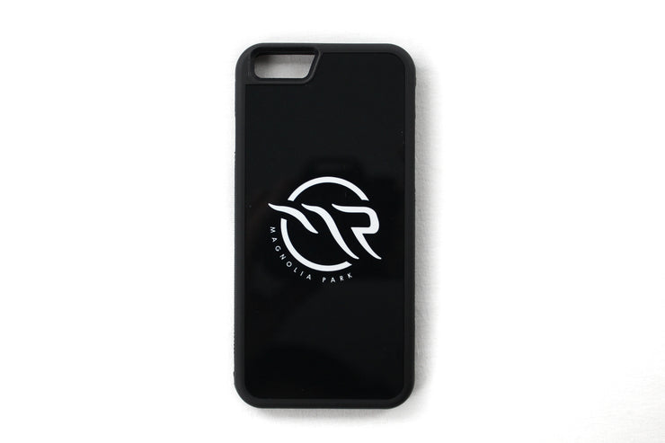 MAGNOLIA PARK - IPHONE 6/6S CASE LOGO (BLACK/BLACK)