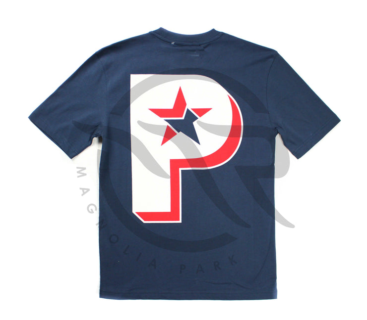 PALACE - P STAR TEE (NAVY)