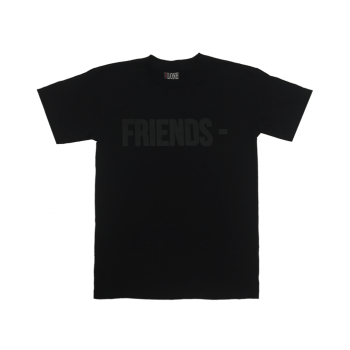 VLONE - FRIENDS TEE (BLACK/BLACK)