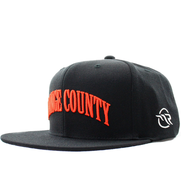 "MAGNOLIA PARK - M&N X MAG PARK ""ORANGE COUNTY"" SNAPBACK (BLACK)"
