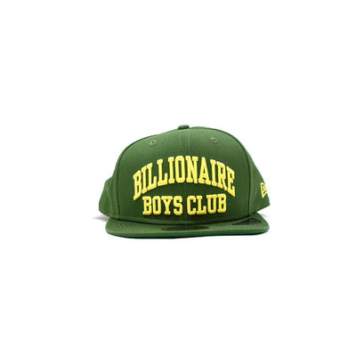 BILLIONAIRE BOYS CLUB - BB BENT SNAPBACK HAT (FOREST GREEN)