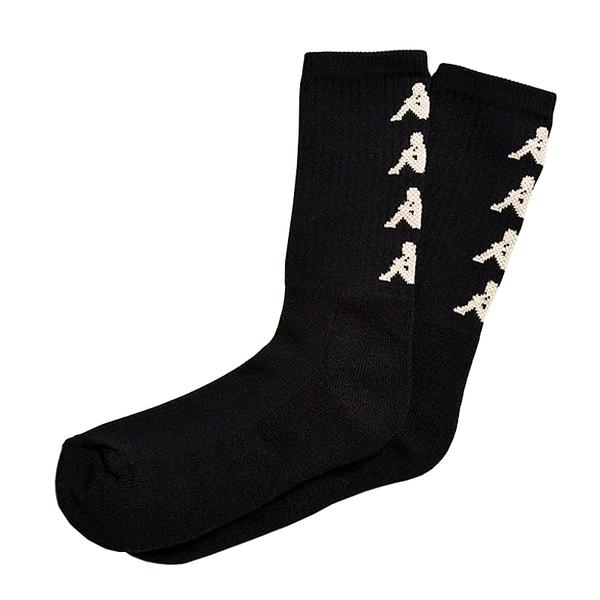KAPPA - AUTHENTIC AMAL SOCK (BLK/GLD)