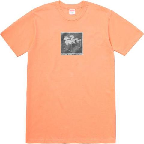 SUPREME - CHAIR TEE (PEACH)