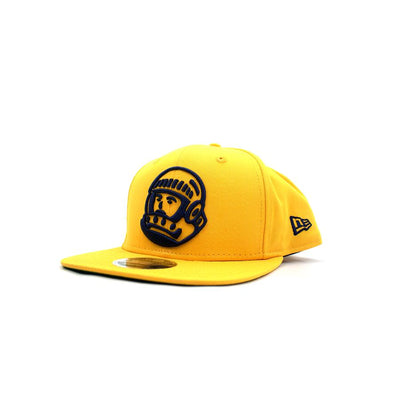 BILLIONAIRE BOYS CLUB - BB HELMET SNAPBACK HAT (GOLD)