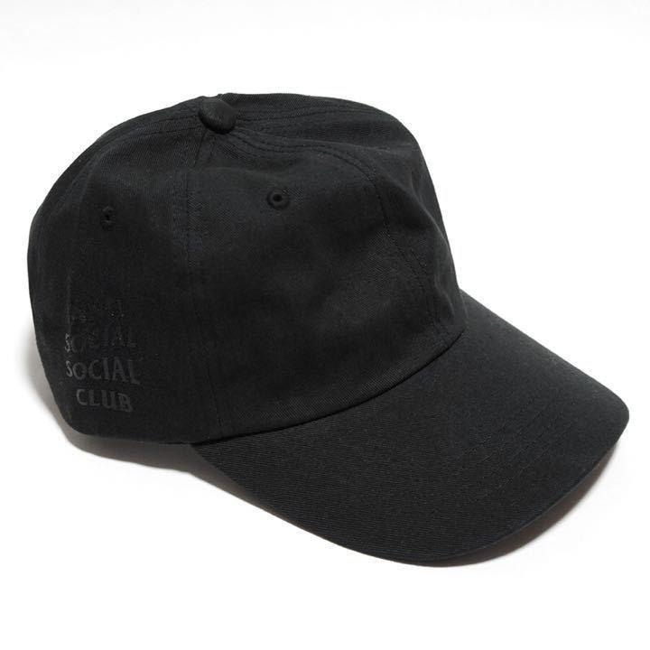 ANTI SOCIAL SOCIAL CLUB - BLACK PACK CAP
