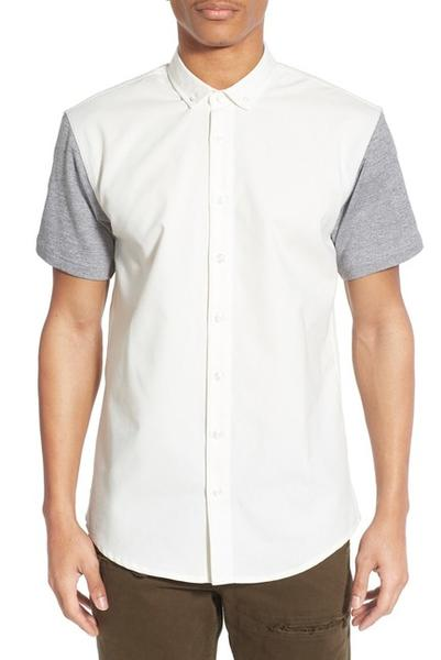 PUBLISH - HANS BUTTON UP (WHITE)
