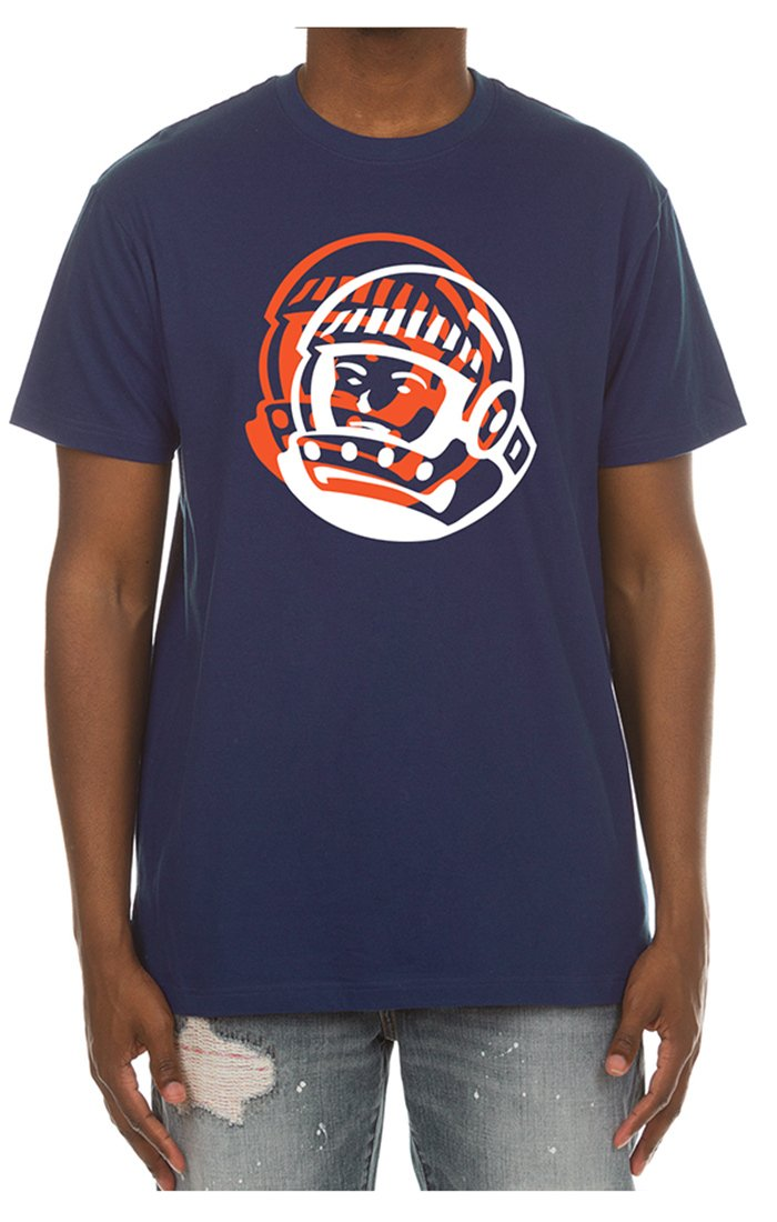 BILLIONAIRE BOYS CLUB - BB DOUBLEED SS TEE (ESTATE BLUE)