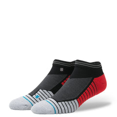 STANCE - PRESSURE LOW (BLACK/RED)