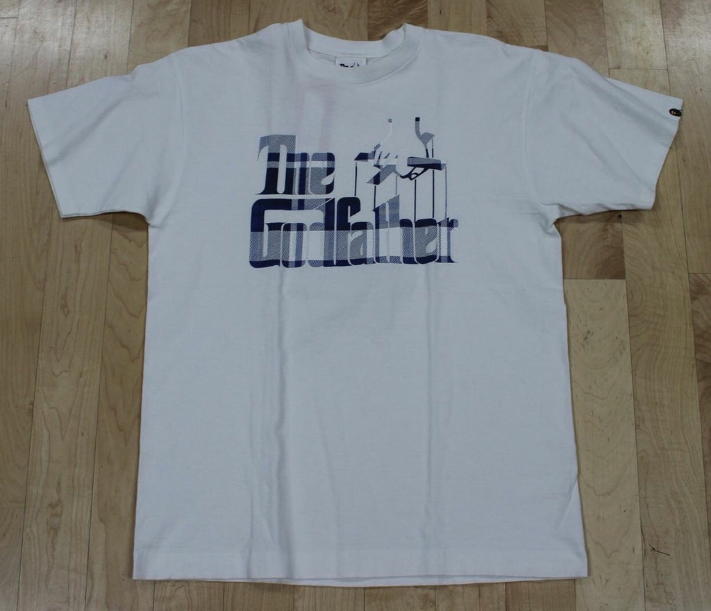 BAPE - THE GODFATHER T-SHIRT WHITE