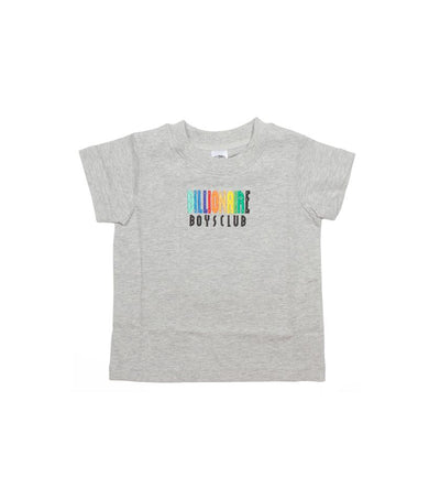 BILLIONAIRE BOYS CLUB (KIDS) - BB MULTICOLR SS KNIT (HEATHER GREY)