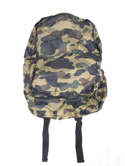 BAPE - PACKABLE CAMO BAG