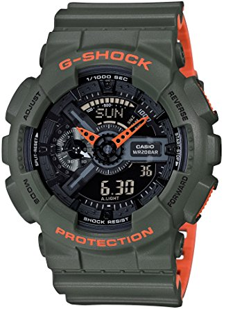 G-SHOCK - GA-110LN-3ACR (GREEN/ORANGE)