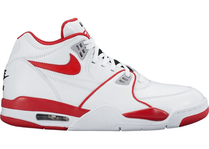 NIKE AIR FLIGHT 89 - WHITE UNIVERSITY RED