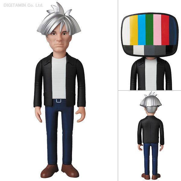 ANDY WARHOL VINYL COLLECTIBLE DOLL 1