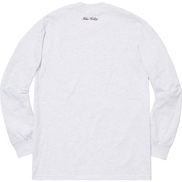 SUPREME/MIKE KELLY - AHH...YOUTH! L/S TEE (ASH GREY)