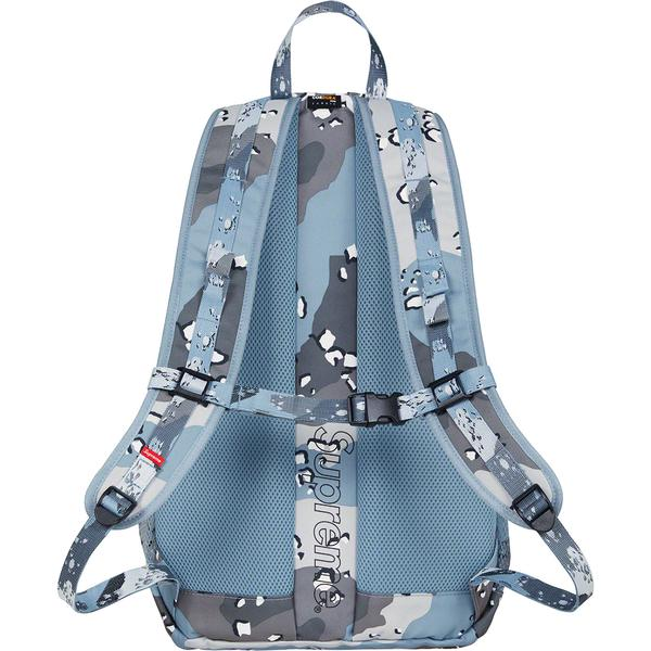 SUPREME - BACKPACK S/S '20 (BLUE CAMO)