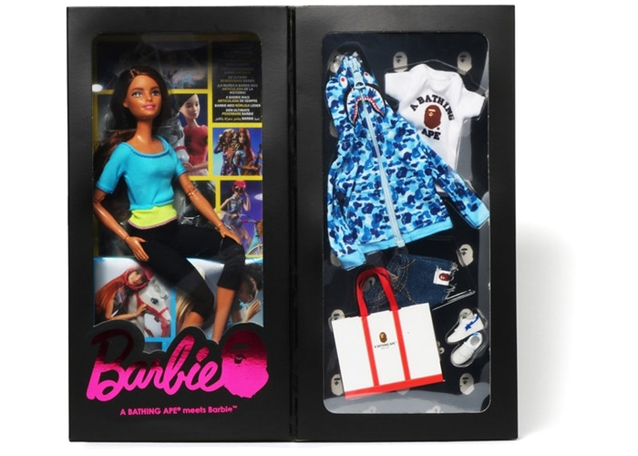 BAPE/BARBIE DOLL - ABC CAMO (BLUE)