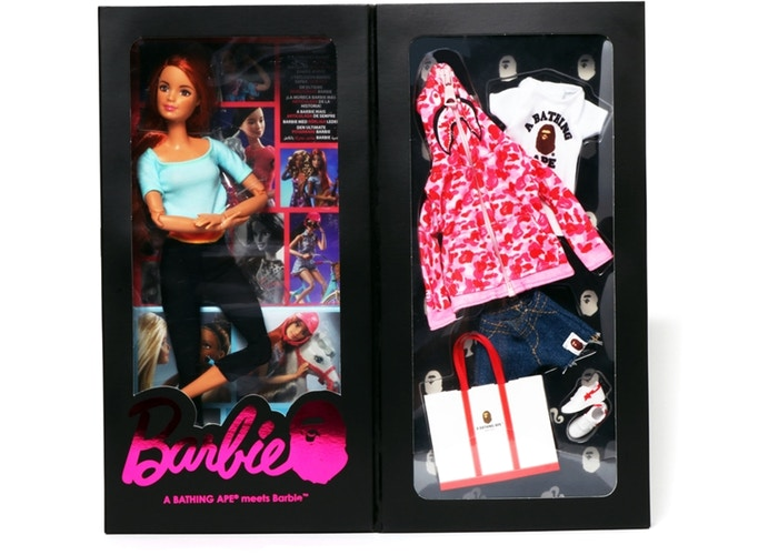 BAPE/BARBIE DOLL - ABC CAMO (PINK)