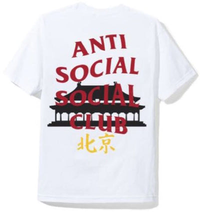 ANTI SOCIAL SOCIAL CLUB - BEIJING TEE (WHITE)