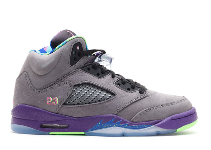 AIR JORDAN RETRO 5 (GS) - BEL AIR [USED]