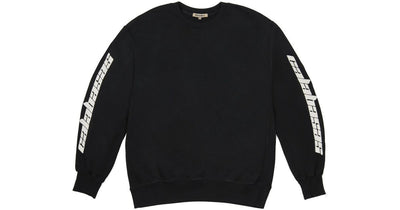 YEEZY SEASON 4 - CALABASAS CREWNECK (BLACK) [USED]