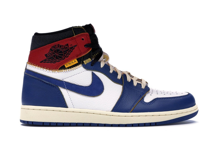 AIR JORDAN RETRO 1 HI NRG / UN - UNION (BLUE TOE)