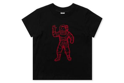 BILLIONAIRE BOYS CLUB (KIDS) - BB ASTRONAUT SS TEE (BLACK)