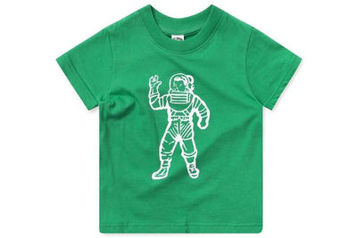 BILLIONAIRE BOYS CLUB (KIDS) - BB ASTRONAUT SS TEE (MING GREEN)