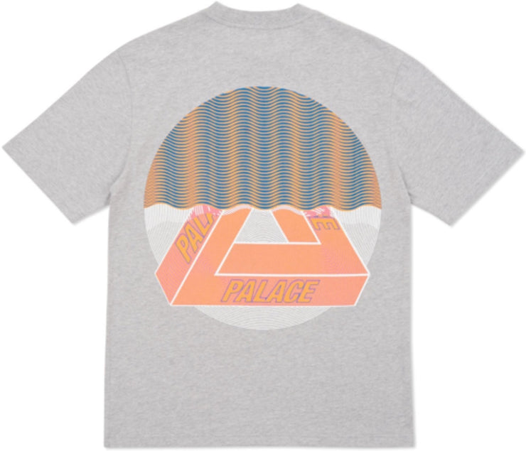 PALACE - TRI-CURTAIN TEE (GREY)