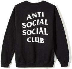ANTI SOCIAL SOCIAL CLUB - MIND GAMES CREWNECK (BLACK)