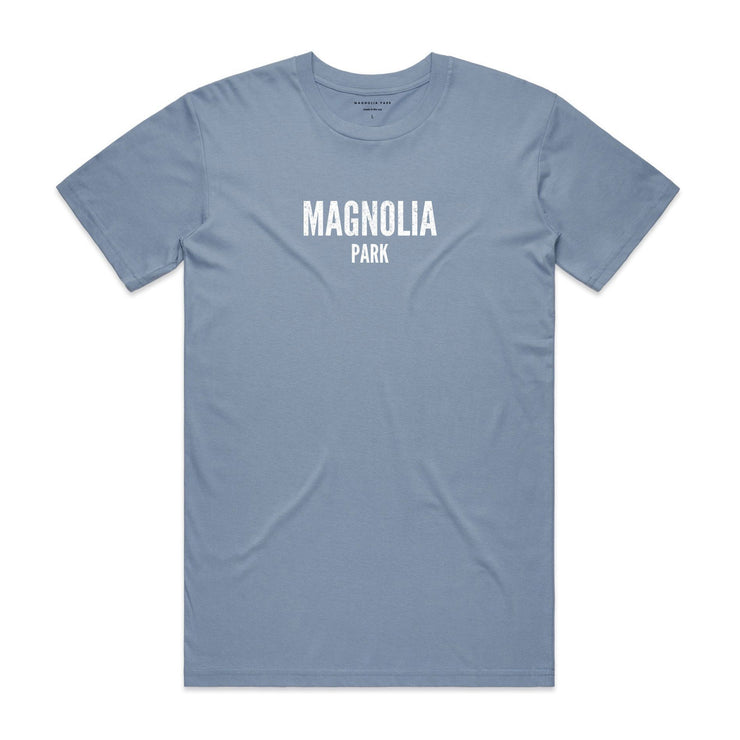 MAGNOLIA PARK - DESOLATE TEE (ICE BLUE)