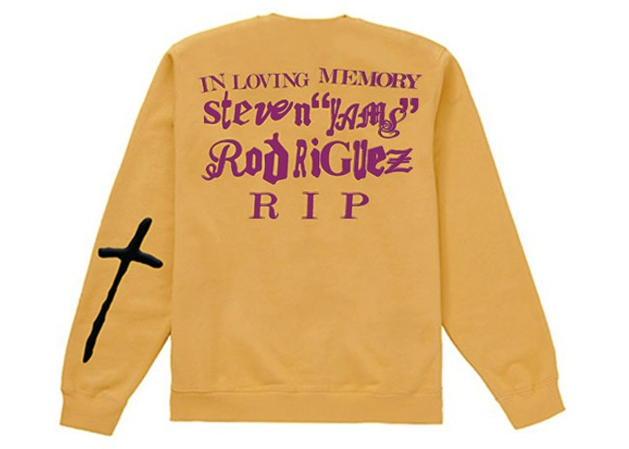 CPFM - YAMS DAY IN LOVING MEMORY L/S TEE (YELLOW)