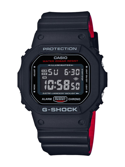 G-SHOCK - DW-5600-HR-1 (BLK/RED)